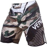 Venum Camo Hero Fight Shorts - Green/Brown