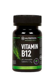 M-Nutrition Vitamin B12 1mg, 60 kaps