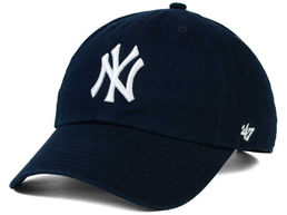NY (New York Yankees) Lippis  Clean up Tummansininen
