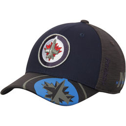 Reebok NHL Winnipeg Jets Playoff  FlexFit -lippis